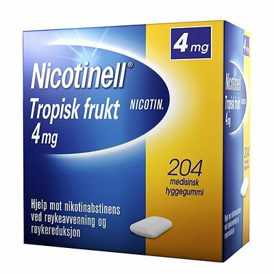 Nicotinell medisinsk tyggegummi