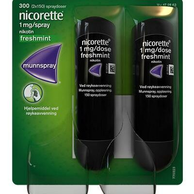 Nicorette munnspray